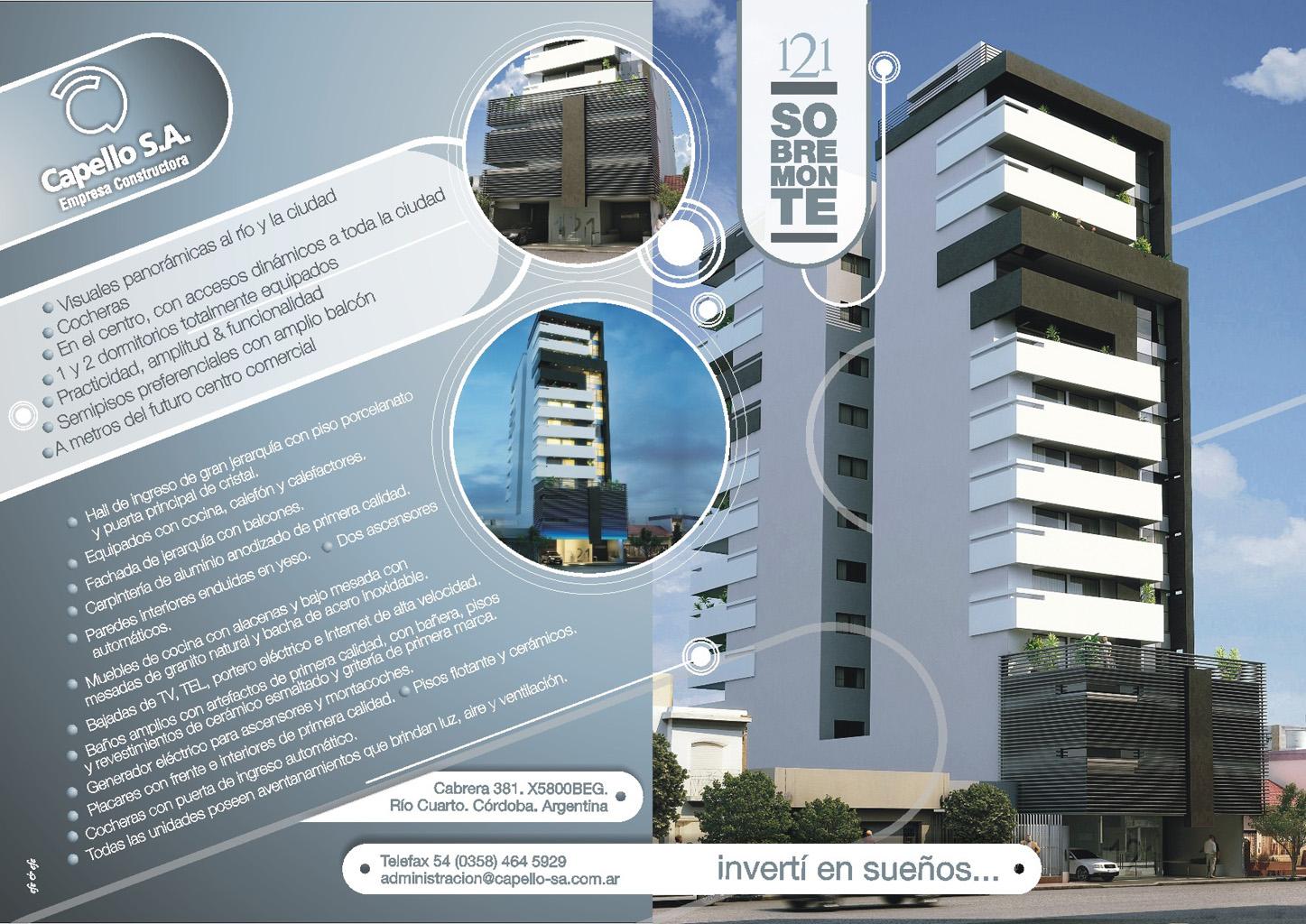 Edificio 121 Sobremonte R O Cuarto Capello S A  # Muebles Rio Cuarto